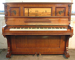 Artcased, Cahn & Cahn upright piano