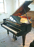 Boston GP156 Grand Piano For Sale with a black polyester finish