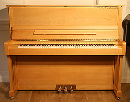 New Wendl and Lung Model 122 Upright Piano