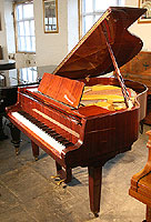Petrof Grand Piano For Sale with a mahogany case