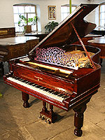 Antique, Steinway Model B Grand Piano For Sale with a rosewood case