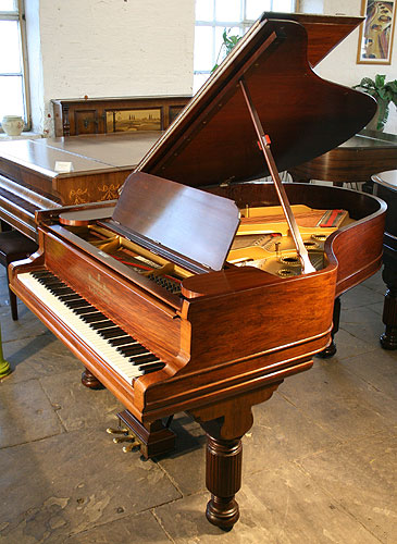 Steinway model a grand piano for sale with a rosewood case for How big is a grand piano