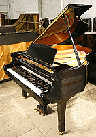 Yamaha G1 Grand Piano  with a black case and polyester finish