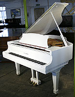 Kawai KG1E Grand Piano For Sale with a white polyester finish