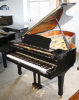Yamaha C6 Grand Piano For Sale with a black case