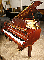 Yamaha G2 Grand Piano For Sale with a mahogany case