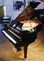 Brand New Steinway Model O Grand Piano For Sale with a black case