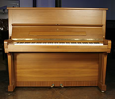Modern Steinway Model V Upright Piano For Sale