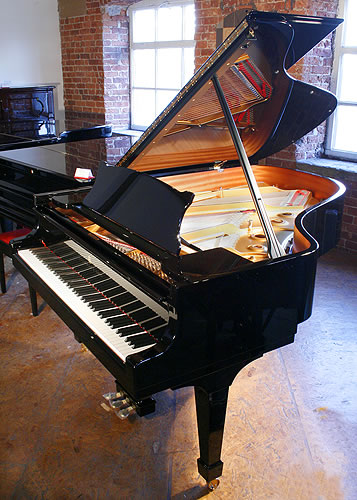 Brand New Steinway Model A Grand Piano For Sale with a black case