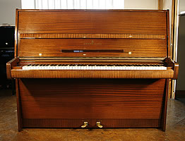 Steinway Model V Upright Piano For Sale with a mahogany case