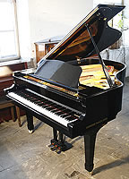 Yamaha C3 Grand Piano For Sale with a black case