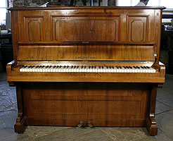 Rosewood, Bechstein Model 8 Upright Piano