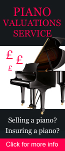 Thinking of freeing up some assets? Do you own a piano and wonder how much it might be worth? Many people have a piano sitting in their home and may wonder about its value. Our piano valuation service is useful if you are thinking of selling your piano privately or in an auction. A realistic estimate on the current value of your piano will help you proceed with confidence. Our valuation service is equally useful for insurance purposes.